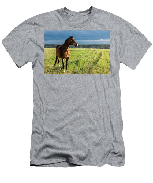 Western Stallion Men's T-Shirt (Athletic Fit)