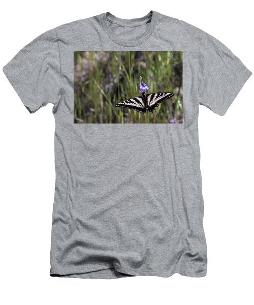 Western Tiger Swallowtail Men's T-Shirt (Athletic Fit)