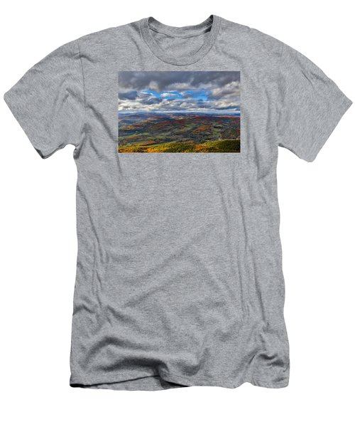 Western View From Mt Ascutney Men's T-Shirt (Athletic Fit)