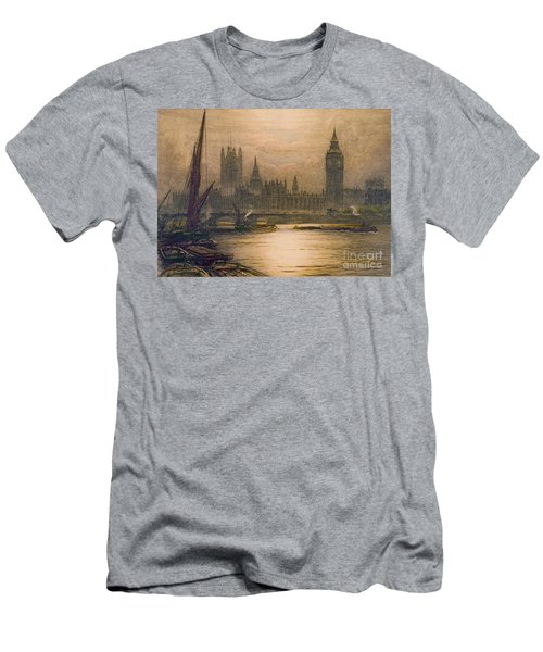 Westminster London 1920 Men's T-Shirt (Slim Fit) by Padre Art