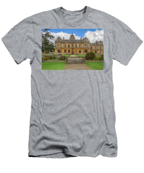 Men's T-Shirt (Athletic Fit) featuring the photograph Westonbirt School For Girls by Clare Bambers