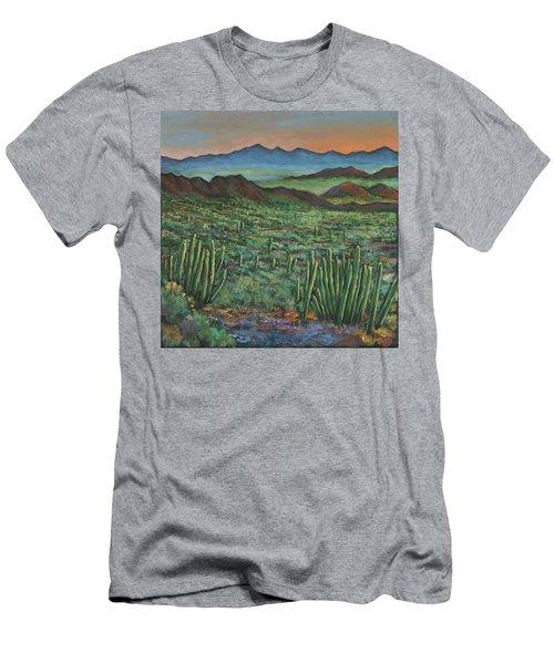 Westward Men's T-Shirt (Slim Fit) by Johnathan Harris