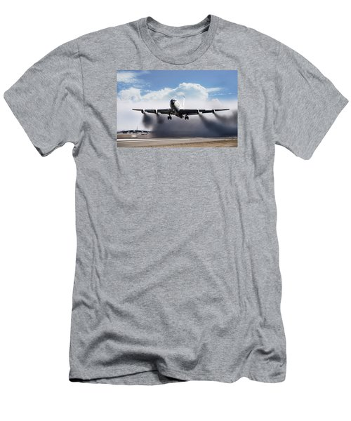 Wet Takeoff Kc-135 Men's T-Shirt (Athletic Fit)