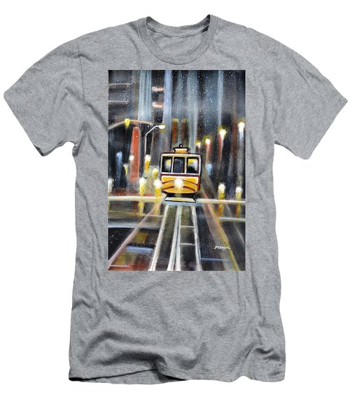 Wet Tram California Men's T-Shirt (Athletic Fit)