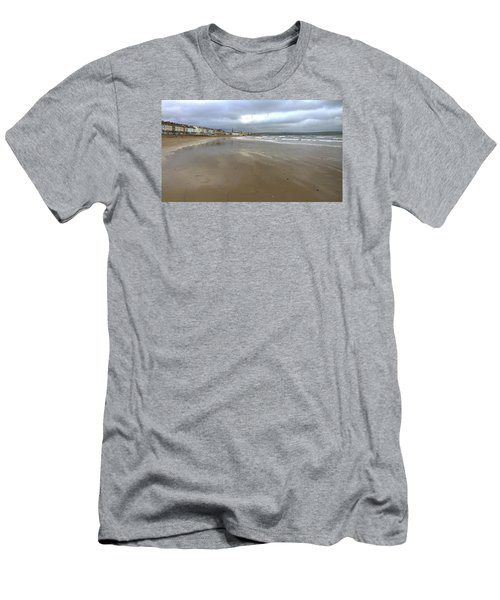 Men's T-Shirt (Slim Fit) featuring the photograph Weymouth Morning by Anne Kotan