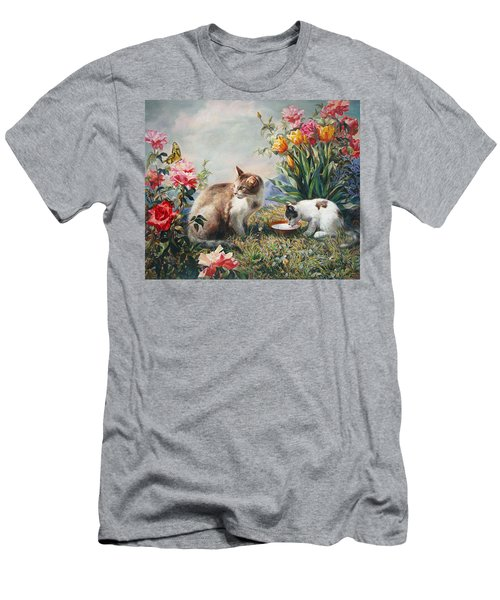 What A Girl Kitten Wants Men's T-Shirt (Athletic Fit)