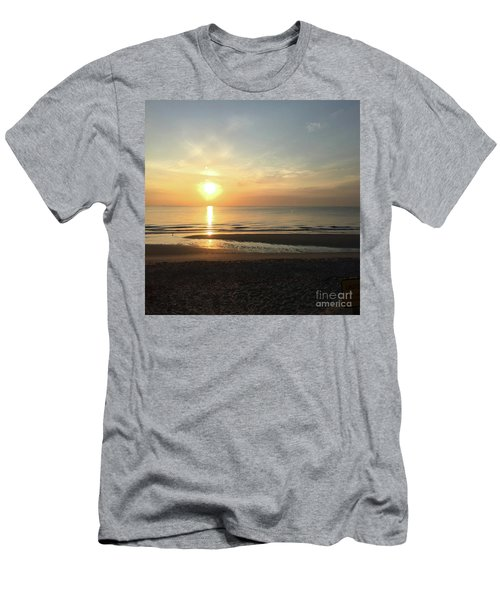 What A View Sunrise Men's T-Shirt (Athletic Fit)