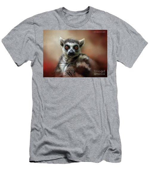 What Big Eyes You Have Men's T-Shirt (Slim Fit) by Kathy Russell
