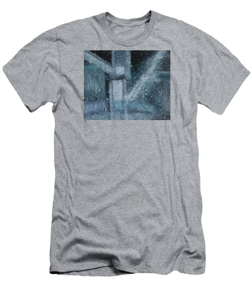 Men's T-Shirt (Slim Fit) featuring the painting What Is The Soul Of Art by Min Zou