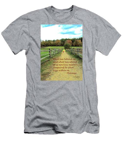 What Lies Ahead Men's T-Shirt (Athletic Fit)