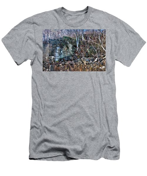 What Was Here? Men's T-Shirt (Athletic Fit)