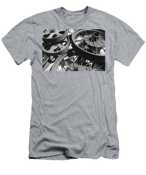 Wheels Of Time Men's T-Shirt (Slim Fit) by Tim Good
