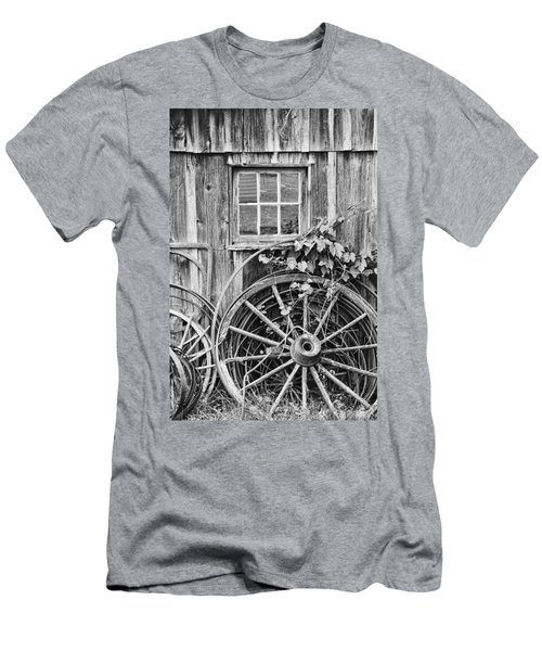 Wheels Wheels And More Wheels Men's T-Shirt (Athletic Fit)