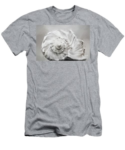 Men's T-Shirt (Slim Fit) featuring the photograph Whelk In Black And White by Benanne Stiens