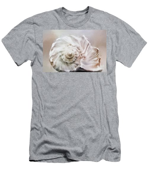 Men's T-Shirt (Slim Fit) featuring the photograph Whelk Shell by Benanne Stiens