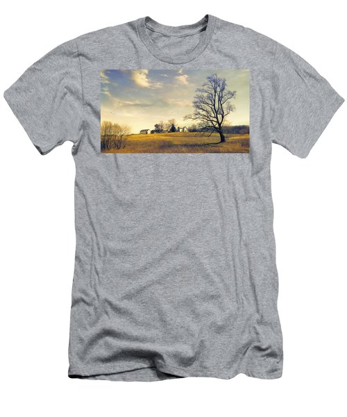 When I Come Back Men's T-Shirt (Athletic Fit)