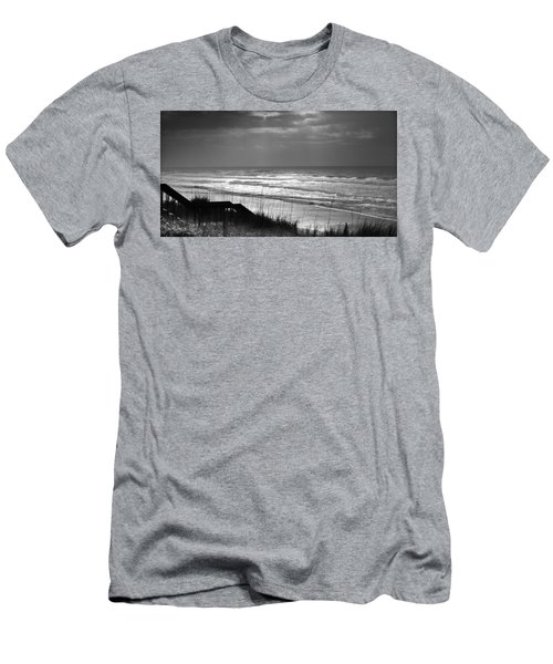When Silver Dances Upon The Sea Men's T-Shirt (Athletic Fit)