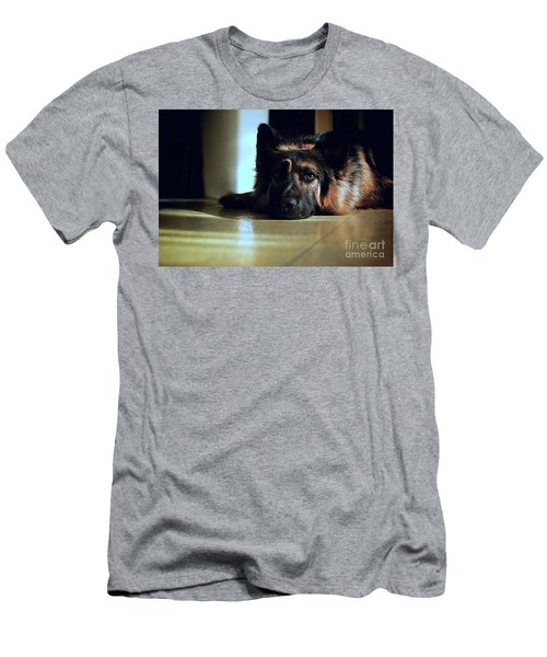 When Their Eyes Look At Your Soul Men's T-Shirt (Athletic Fit)