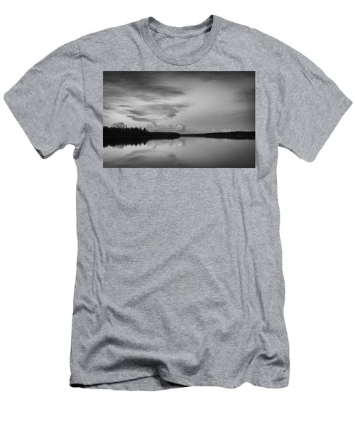 When You Look At The World What Is It That You See Men's T-Shirt (Athletic Fit)