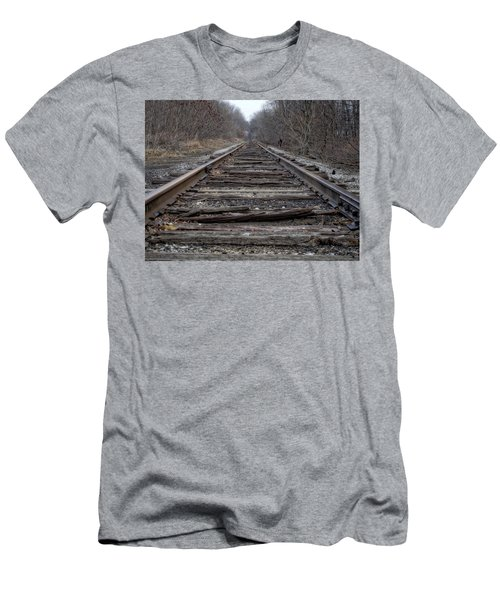 Where Are You Going? Men's T-Shirt (Athletic Fit)