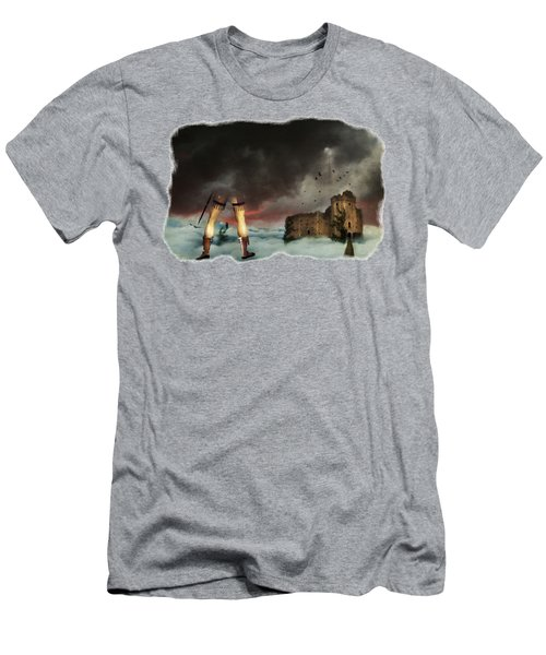 Where Giants Dwell Men's T-Shirt (Athletic Fit)