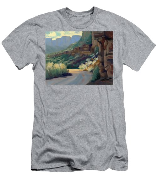 Where The Road Bends Men's T-Shirt (Athletic Fit)