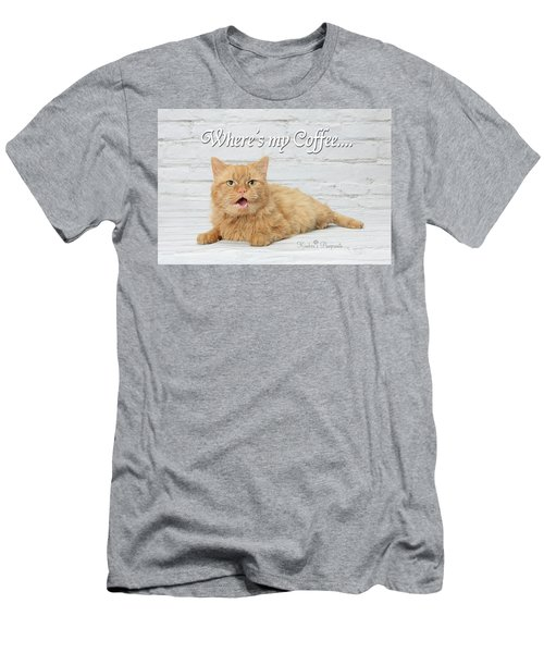 Where's My Coffee? Men's T-Shirt (Athletic Fit)