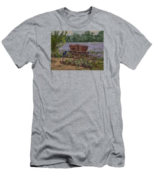 Where's The Seed? Men's T-Shirt (Slim Fit) by Jane Thorpe
