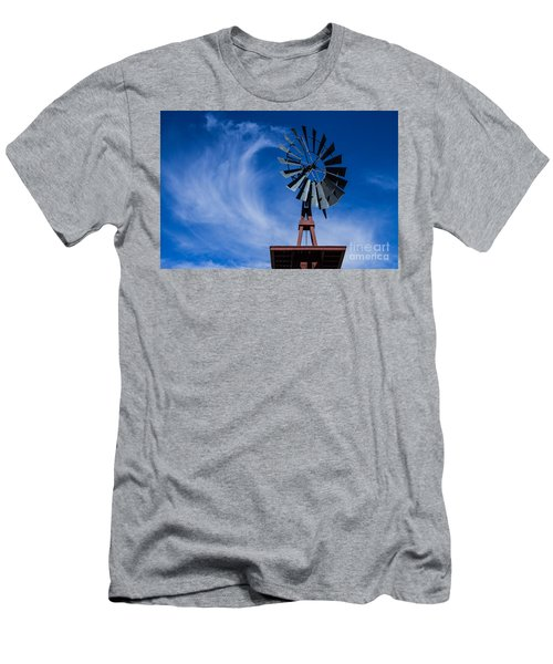 Whipping Up The Clouds Men's T-Shirt (Athletic Fit)