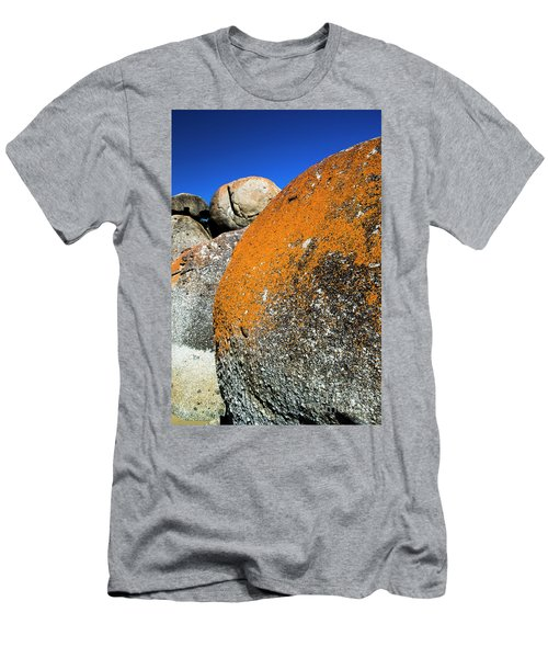 Men's T-Shirt (Athletic Fit) featuring the photograph Whisky Rocks by Angela DeFrias