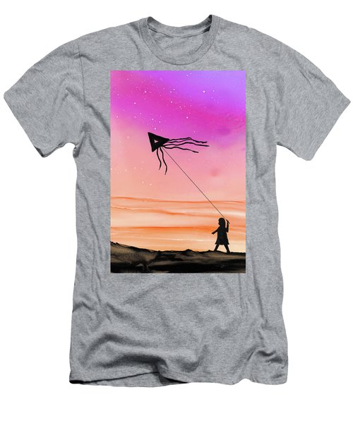 Whisper In The Wind Men's T-Shirt (Athletic Fit)