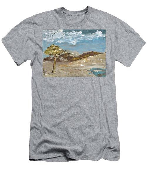 Whispering Dunes Men's T-Shirt (Athletic Fit)
