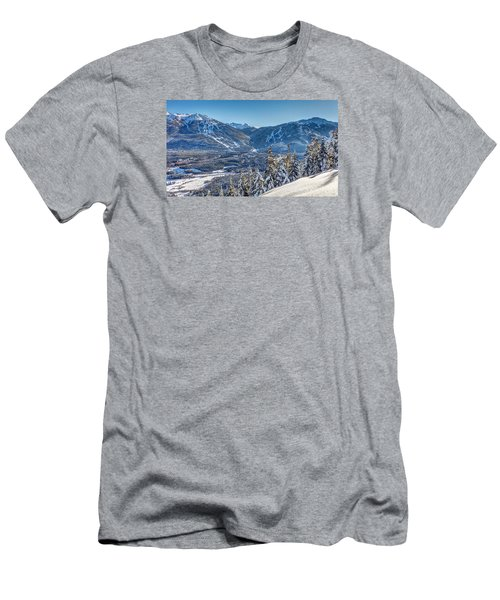 Whistler Blackcomb Winter Wonderland Men's T-Shirt (Athletic Fit)