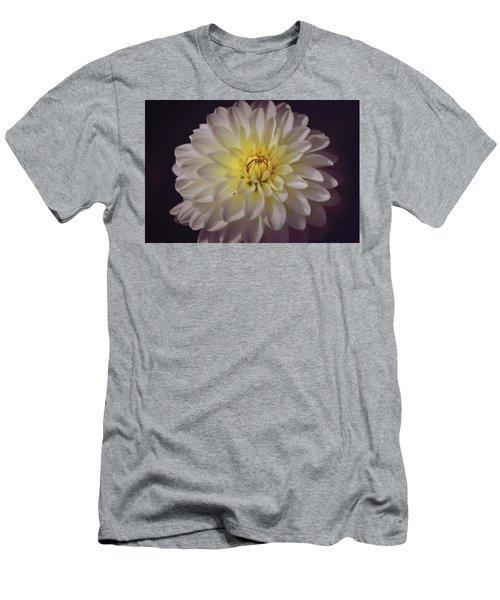 White Dahlia Men's T-Shirt (Athletic Fit)