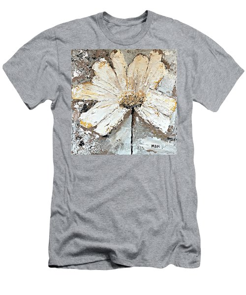 White Daisy Men's T-Shirt (Athletic Fit)