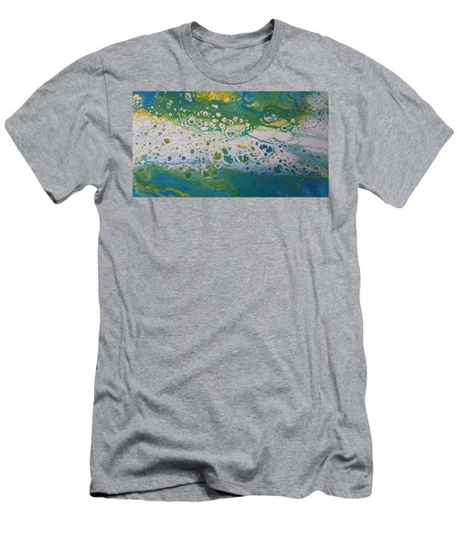 White Flow Men's T-Shirt (Athletic Fit)