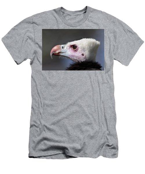 White-headed Vulture Portrait Men's T-Shirt (Athletic Fit)