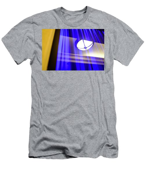 White Light With Blue And Yellow In Winter Park Florida Men's T-Shirt (Athletic Fit)