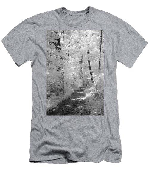 White Path Men's T-Shirt (Athletic Fit)