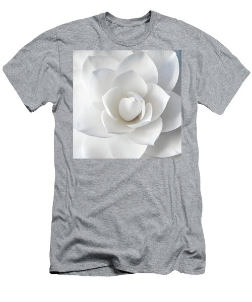 White Petals Men's T-Shirt (Athletic Fit)