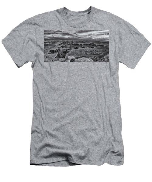 White Rim Overlook Monochrome Men's T-Shirt (Athletic Fit)