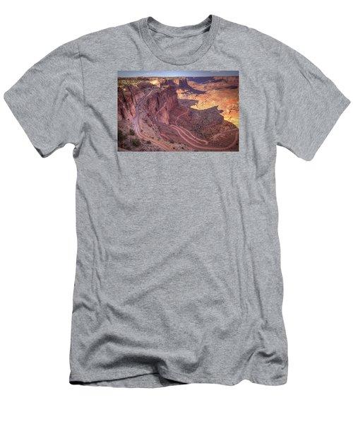 White Rim Road Men's T-Shirt (Athletic Fit)