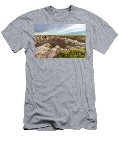 White River Valley Badlands Men's T-Shirt (Athletic Fit)