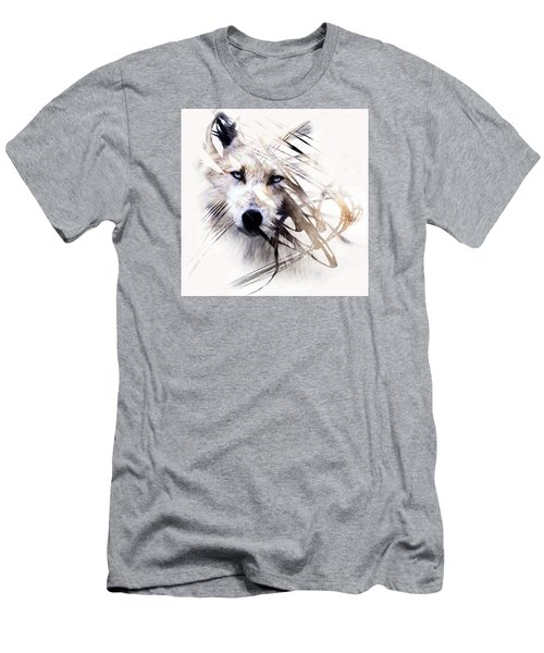 White Wolf Men's T-Shirt (Athletic Fit)