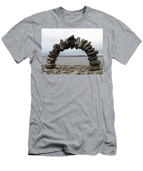 Whitefish Bay Under The Arch Men's T-Shirt (Athletic Fit)