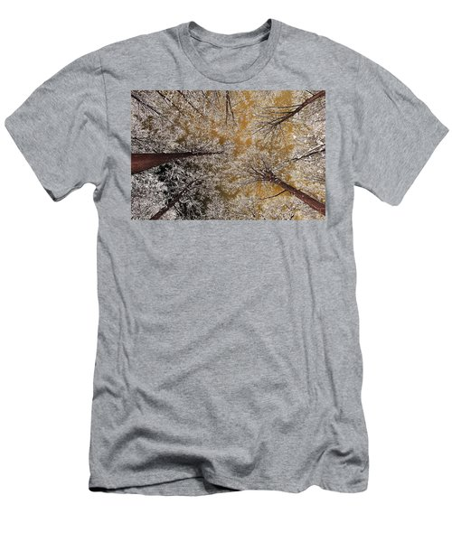 Men's T-Shirt (Slim Fit) featuring the photograph Whiteout by Tony Beck