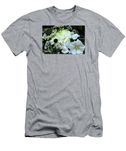 Whites And Pastels Men's T-Shirt (Slim Fit) by Tanya Searcy