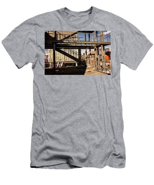 Whitney Terrace Grid Men's T-Shirt (Athletic Fit)