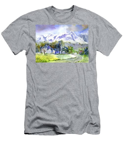 Whitney's White House Ranch Men's T-Shirt (Athletic Fit)