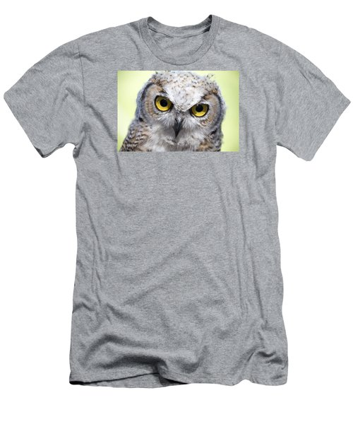 Whooo Men's T-Shirt (Slim Fit) by Tom Buchanan